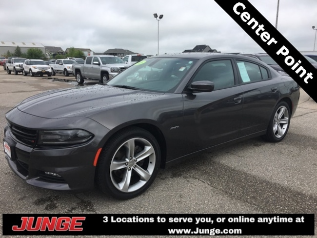 used 2016 dodge charger r t for sale center point ia near cedar rapids independence ia. Black Bedroom Furniture Sets. Home Design Ideas