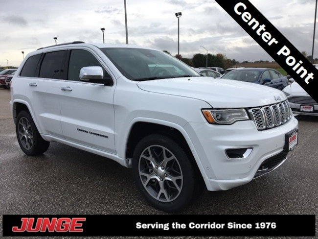 New 2019 Jeep Grand Cherokee OVERLAND 4X4 Sport Utility in Center Point, IA