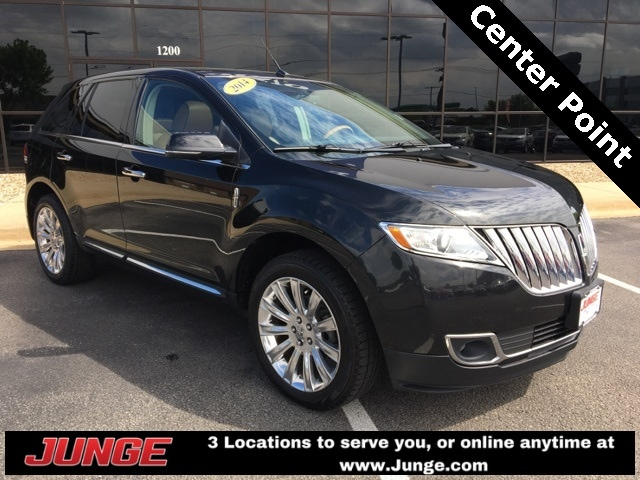 Used 2014 Lincoln Mkx Base For Sale Center Point Ia
