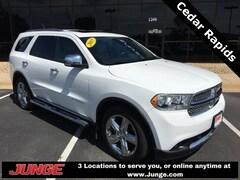 Used 2013 Dodge Durango For Sale Near Cedar Rapids   Junge Automotive Group