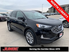 2019 Ford Edge Titanium Crossover For Sale Near Cedar Rapids | Junge Automotive Group