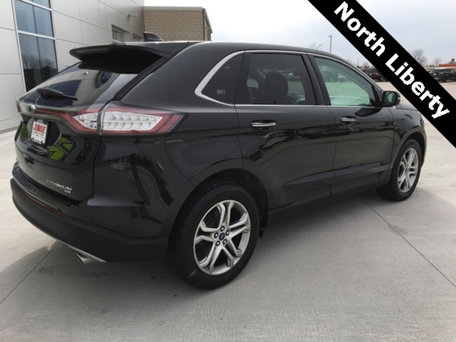 used 2015 ford edge for sale in hiawatha ia near cedar rapids dubuque north liberty waterloo. Black Bedroom Furniture Sets. Home Design Ideas