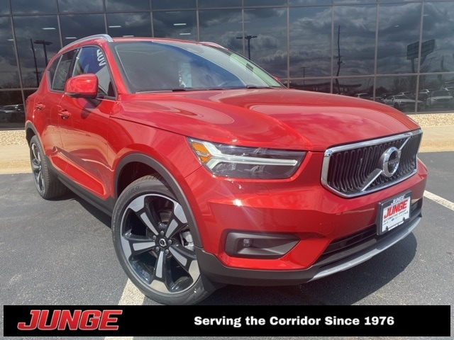 Featured new 2021 Volvo XC40 T5 Momentum SUV for sale in Hiawatha, IA