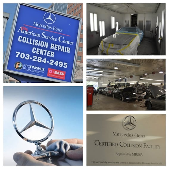 Mercedes-Benz of Arlington Auto Body Shop & Collision Center