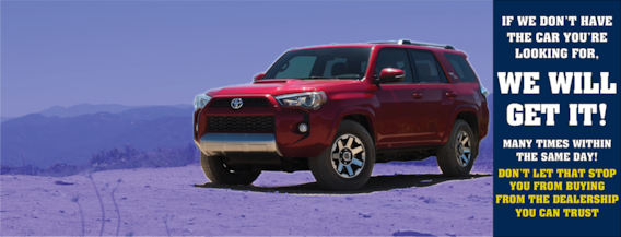Toyota Dealers Mn >> Toyota Of Warren New And Used Toyota Cars Serving