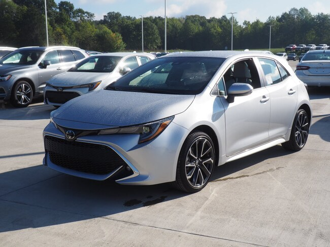 New 2019 Toyota Corolla Hatchback For Sale Warren Oh Vin