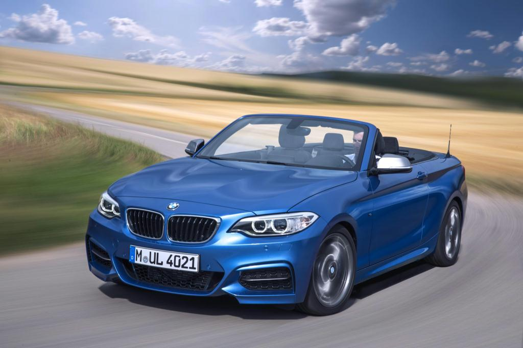 Bmw 228I Convertible >> BMW Drops the Top on the 2015 2 Series Convertible