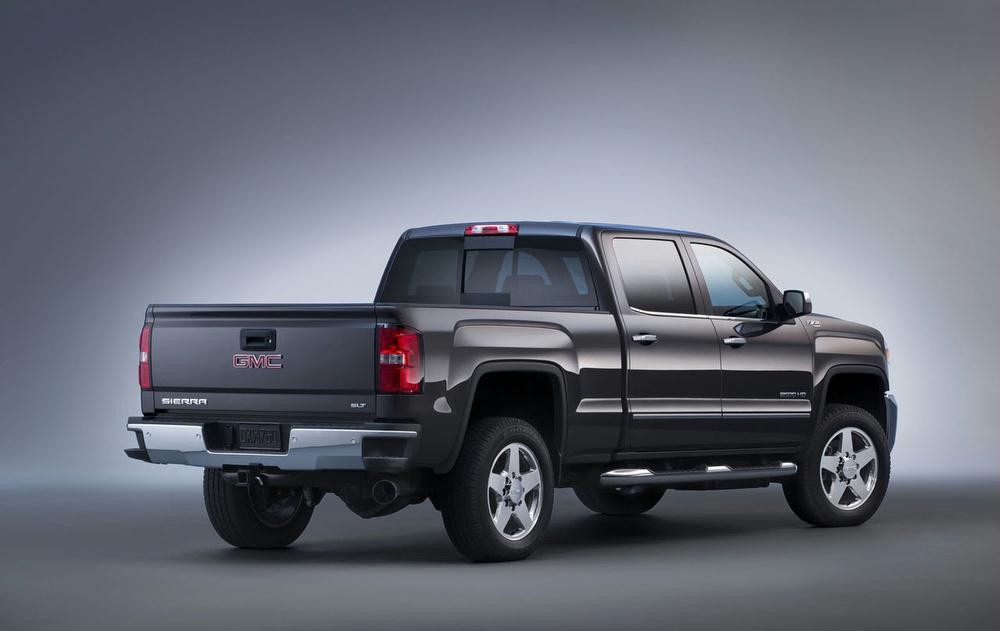 Redesigned 2015 Chevrolet Silverado HD and 2015 GMC Sierra ...