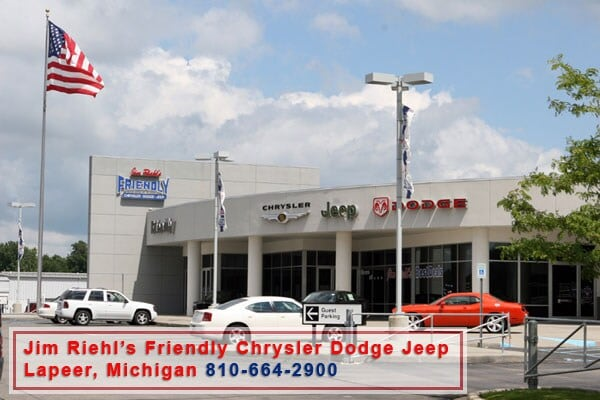 Used Cars Flint Mi >> About Jim Riehl's Friendly | Lapeer New Jeep, Dodge, RAM, Chrysler & Used Car Dealer Serving ...
