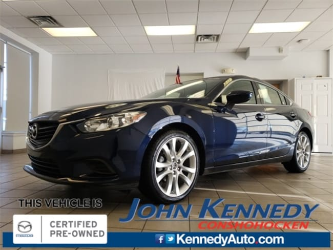 Certified Pre-Owned 2016 Mazda Mazda6 i Touring Sedan in Conshohocken