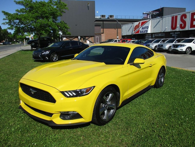 2015 Ford Mustang V6~AUTOMATIC~BACK-UP CAM.~REMOTE START~CERTIFIED Coupe