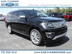 New Ford for sale 2018 Ford Expedition Max Platinum SUV 1FMJK1LTXJEA43061 in Tarpon Springs, FL