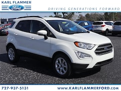 New Ford for sale 2019 Ford EcoSport SE SUV in Tarpon Springs, FL