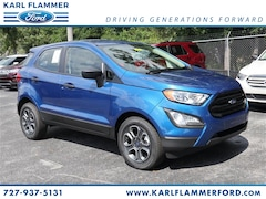 New Ford for sale 2019 Ford EcoSport S SUV MAJ3S2FE4KC276839 in Tarpon Springs, FL