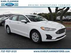 New Ford for sale 2019 Ford Fusion S Sedan in Tarpon Springs, FL