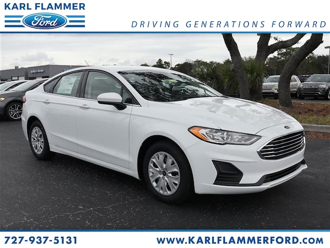 New 2019 Ford Fusion S Sedan For Sale /LeaseTarpon Springs Florida