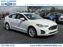 New Ford for sale 2019 Ford Fusion Hybrid Hybrid SE Sedan 3FA6P0LU9KR162206 in Tarpon Springs, FL