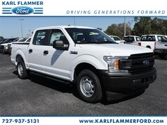 New Ford for sale 2018 Ford F-150 XL Truck SuperCrew Cab 1FTEW1CP0JKF84070 in Tarpon Springs, FL