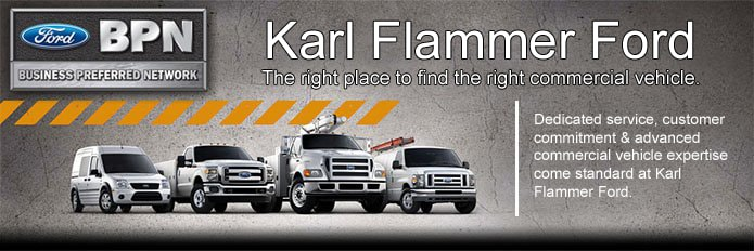 Karl Flammer Ford >> Ford Commercial Vehicles For Sale Ford Dealer Near Trinity Fl