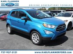 New Ford for sale 2018 Ford EcoSport SE SUV MAJ3P1TE3JC221295 in Tarpon Springs, FL