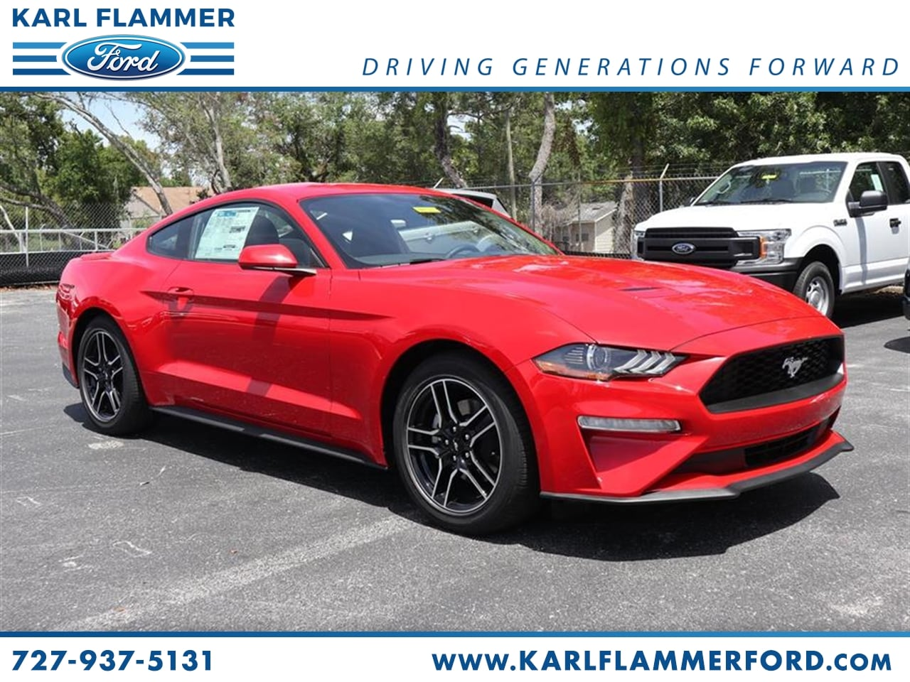 Ford Mustang Lease >> New 2019 Ford Mustang For Sale Lease Tarpon Springs Fl Stock 9p8t7210