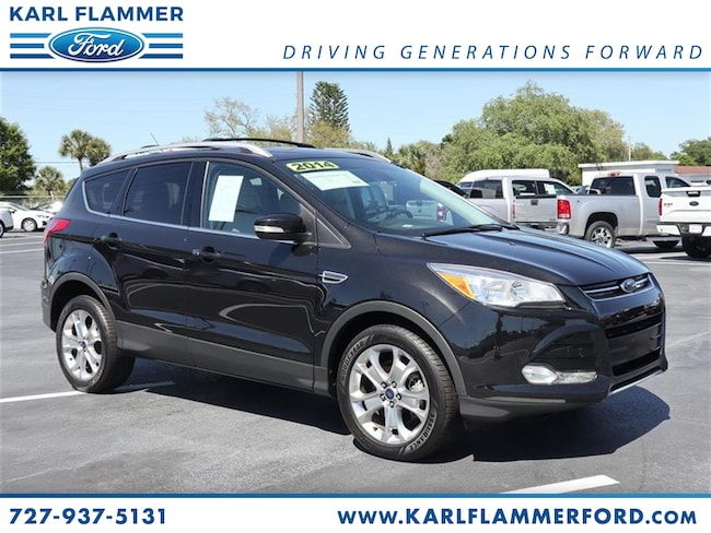 Certified Pre-Owned 2014 Ford Escape Titanium SUV For Sale Tarpon Springs, FL