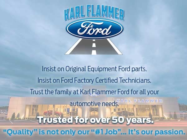 Karl Flammer Ford >> Ford Service Specials Karl Flammer Ford Inc