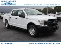 New Ford for sale 2018 Ford F-150 XL Truck SuperCrew Cab 1FTEW1CP2JKF84071 in Tarpon Springs, FL