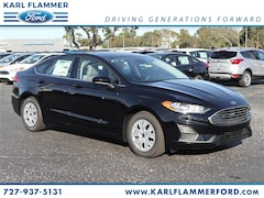 New Ford for sale 2019 Ford Fusion S Sedan 3FA6P0G73KR128069 in Tarpon Springs, FL