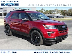 New Ford for sale 2019 Ford Explorer Sport SUV in Tarpon Springs, FL