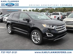 New Ford for sale 2018 Ford Edge Titanium SUV 2FMPK3K88JBC25128 in Tarpon Springs, FL