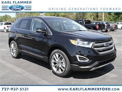 New Ford for sale 2018 Ford Edge Titanium SUV 2FMPK3K96JBB93546 in Tarpon Springs, FL
