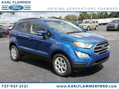 New Ford for sale 2018 Ford EcoSport SE SUV MAJ3P1TE5JC232055 in Tarpon Springs, FL