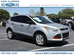 Certified Used 2015 Ford Escape S SUV 1FMCU0F76FUB89062 for Sale in Tarpon Springs