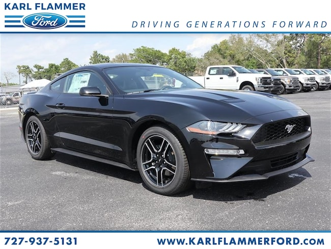 New 2019 Ford Mustang Ecoboost Premium Coupe For Sale /LeaseTarpon Springs Florida