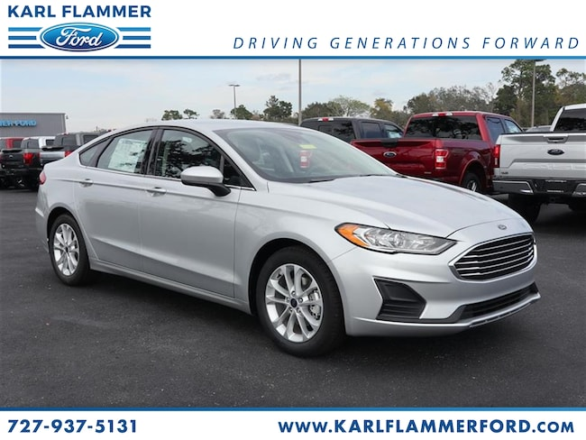 New 2019 Ford Fusion SE Sedan For Sale /LeaseTarpon Springs Florida