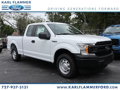 New Ford for sale 2019 Ford F-150 XL Truck SuperCab Styleside 1FTEX1CBXKKD22950 in Tarpon Springs, FL