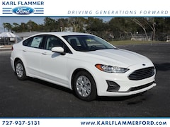 New Ford for sale 2019 Ford Fusion S Sedan 3FA6P0G75KR128073 in Tarpon Springs, FL
