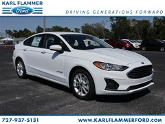 New Ford for sale 2019 Ford Fusion Hybrid Hybrid SE Sedan 3FA6P0LU3KR194147 in Tarpon Springs, FL