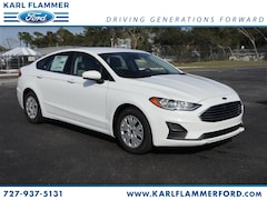 New Ford for sale 2019 Ford Fusion S Sedan 3FA6P0G70KR128076 in Tarpon Springs, FL