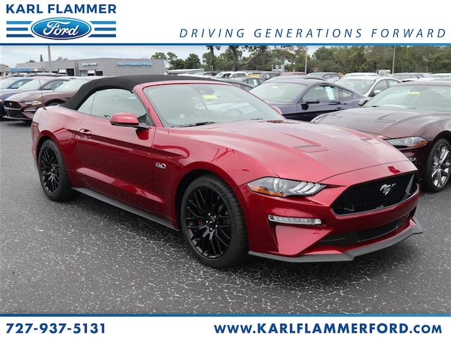 New 2018 Ford Mustang GT Premium Convertible For Sale /LeaseTarpon Springs Florida