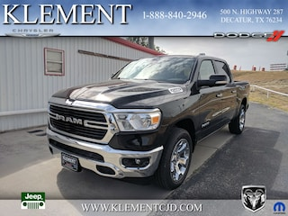 New 2019 Ram 1500 BIG HORN / LONE STAR CREW CAB 4X2 5'7 BOX Crew Cab 1C6RREFT8KN581322 for sale in Decatur, TX
