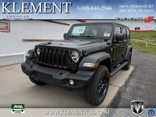 New 2018 Jeep Wrangler UNLIMITED SPORT 4X4 Sport Utility 1C4HJXDN6JW305273 for sale in Decatur, TX