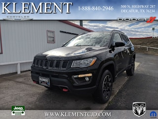 New 2019 Jeep Compass TRAILHAWK 4X4 Sport Utility 3C4NJDDB7KT713361 for sale in Decatur, TX