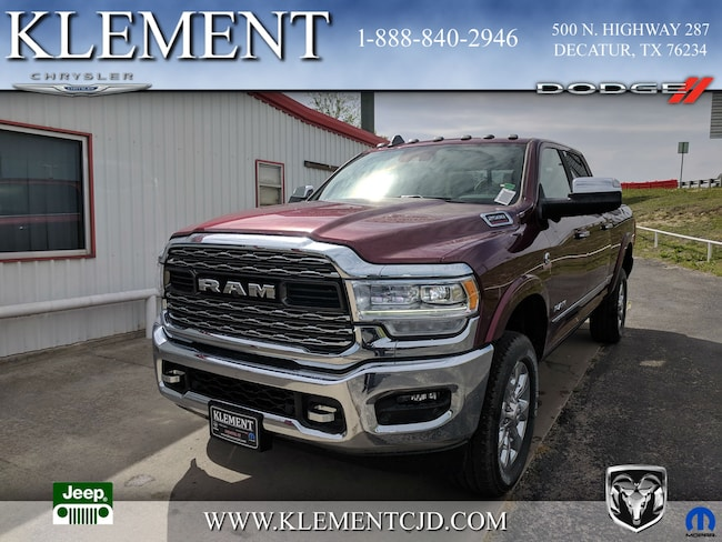 New 2019 Ram 2500 LIMITED CREW CAB 4X4 6'4 BOX Crew Cab 3C6UR5SL2KG534778 Decatur