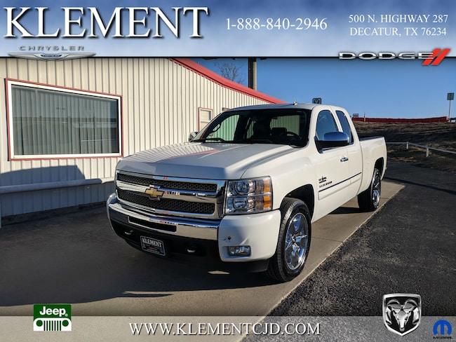 Used 2011 Chevrolet Silverado 1500 LT Truck Extended Cab in Decatur