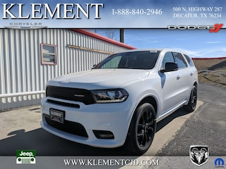 New 2019 Dodge Durango GT PLUS AWD Sport Utility 1C4RDJDG8KC560262 for sale in Decatur, TX