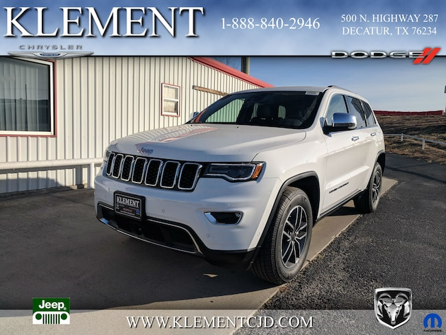 New 2019 Jeep Grand Cherokee LIMITED 4X2 Sport Utility 1C4RJEBG8KC614792 Decatur