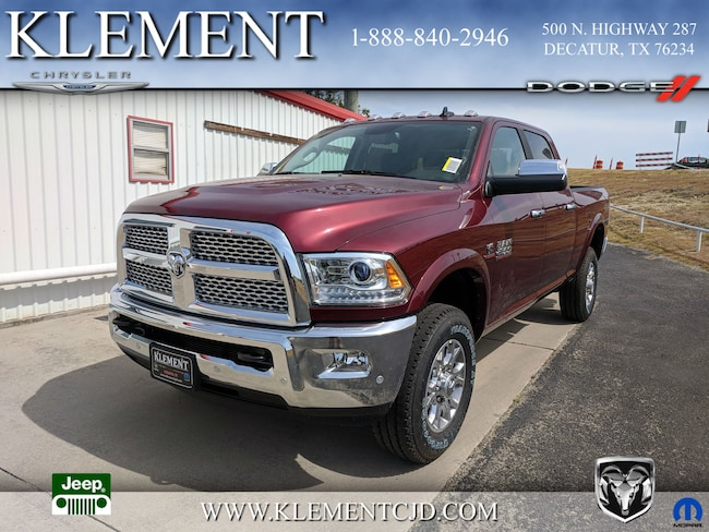 New 2018 Ram 2500 LARAMIE CREW CAB 4X4 6'4 BOX Crew Cab 3C6UR5FL6JG315315 Decatur