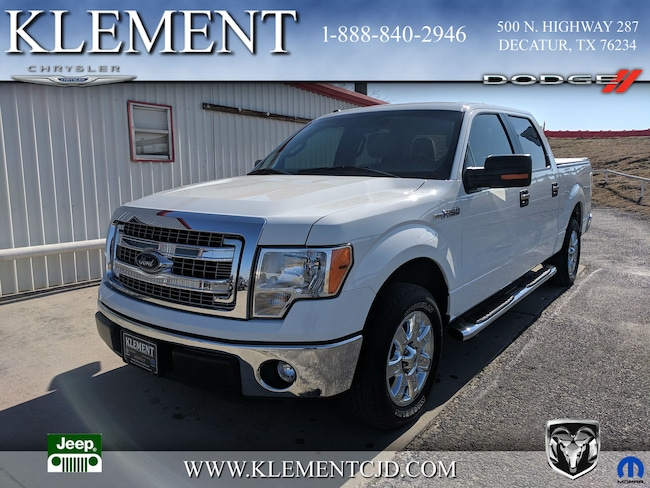 Used 2013 Ford F-150 XLT Truck SuperCrew Cab in Decatur